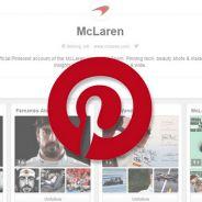 McLaren se estrena en Pinterest - LaF1