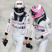 Kevin Magnussen y Jenson Button en Abu Dabi - LaF1