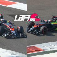 Parafina en el McLaren de Stoffel Vandoorne - Laf1