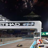 Un Caterham durante el Gran Premio de Abu Dabi - LaF1