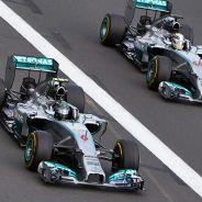 Nico Rosberg y Lewis Hamilton en Australia - LaF1