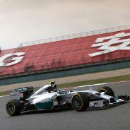 Nico Rosberg a los mandos de su W05 - LaF1