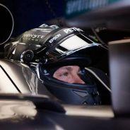 Nico Rosberg en su box - LaF1