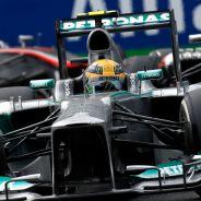 Lewis Hamilton en el pasado Gran Premio de Italia - LaF1