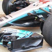 Mercedes asusta con el nuevo morro - SoyMotor.com