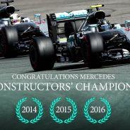 Mercedes logra su tercer Mundial de Constructores - LaF1