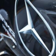 Detalle del capó motor Mercedes - LaF1