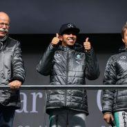 Dieter Zetsche opina que tiene la mejor pareja de pilotos posible - LaF1