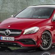 El Mercedes A 45 AMG cuenta con 381 caballos - SoyMotor