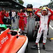 Roberto Merhi en la parrilla del GP de Austria - LaF1