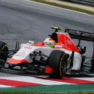 Roberto Merhi con el Manor en Austria - LaF1