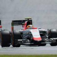 Roberto Merhi, por delante de Jenson Button en Sepang - LaF1
