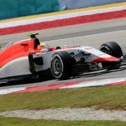 El Manor rodando en Malasia - LaF1.es