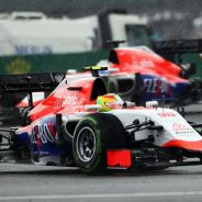 Roberto Merhi y Will Stevens en el Gran Premio de Gran Bretaña - LaF1