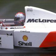 Michael Andretti en el McLaren MP4-8 en el GP de Europa de 1993 - LaF1