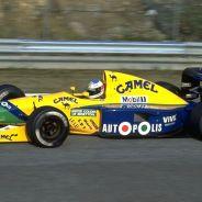 Michael Schumacher comenzó a despuntar en Benetton después de debutar con Jordan - LaF1
