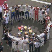 La Fórmula 1 guarda un emotivo minuto de silencio por Jules Bianchi - LaF1