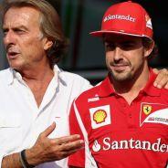 Luca Cordero di Montezemolo con Fernando Alonso - LaF1.es