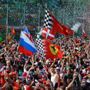 Tifosi en el Gran Premio de Italia 2014 - LaF1