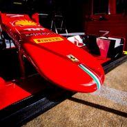 El morro del SF15-T de Räikkönen - LaF1