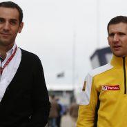 Cyril Abiteboul junto con Remi Taffin - LaF1.es