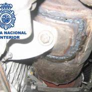 Foto de un motor diésel trucado (Policía Nacional) - SoyMotor