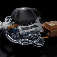 El motor V6 Turbo Híbrido de Mercedes - LaF1