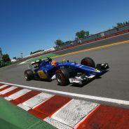 Felipe Nasr con el C34 en Canadá - LaF1.es