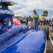 Felipe Nasr en la parrilla del GP de Hungría - LaF1