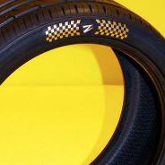 La 'Z' de Z Tyre que lucen estos neumáticos está formada por pequeños diamantes - SoyMotor