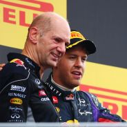 Adrian Newey junto a Sebastian Vettel y Mark Webber - LaF1
