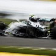 Nico Rosberg durante la carrera en Silverstone - LaF1