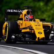 Esteban Ocon, en los Libres de Hungría con Renault - LaF1