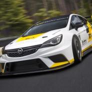 El Opel Astra TCR está basado en la versión de 4 puertas del nuevo Opel Astra - SoyMotor