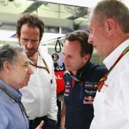 Jean Todt quiere encontrar una solución a la crisis de Red Bull - LaF1