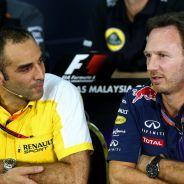 Cyril Abiteboul y Christian Horner - LaF1.es