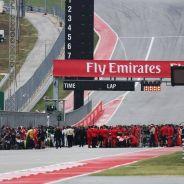 En Austin se vivió un domingo intento con la clasificación antes de la carrera - LaF1