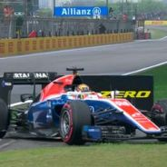 Wehrlein sufre un accidente en el inicio de la Q1 - LaF1