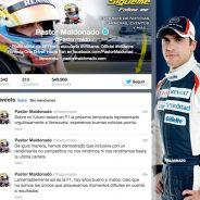 Twitter de Pastor Maldonado - LaF1