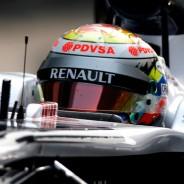 Pastor Maldonado consiguió un tercer puesto en Abu Dabi 2012 - LaF1