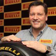 Paul Hembery en un acto de Pirelli - LaF1.es