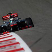 Sergio Pérez y su McLaren en Estados Unidos - LaF1
