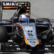 Sergio Pérez con el Force India - LaF1