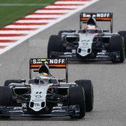 Force India cambio la cara a partir de Gran Bretaña con su VJM08 'B' - LaF1