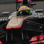 Sergio Pérez en la India - LaF1