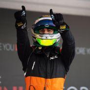 Sergio Pérez se mostró eufórico con el quinto podio de su trayectoria - LaF1