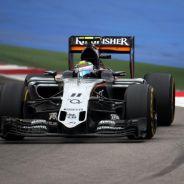 Pérez no puede llegar a Austin más motivado tras lograr subir al podio en Rusia - LaF1