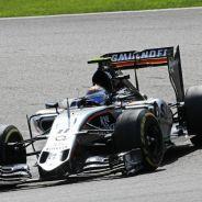 Sergio Pérez llegó a rodar en posiciones de podio, pero al final no pudo concretarlo - LaF1
