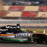 Sergio Pérez es cauto con las opciones del equipo en el inicio de temporada - LaF1