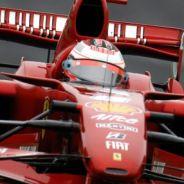 Kimi Räikkönen durante el Gran Premio de Brasil de 2007